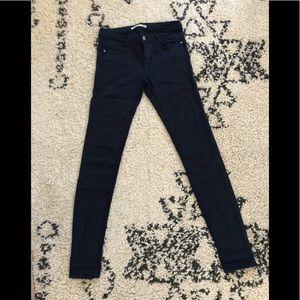 Zara navy skinnies